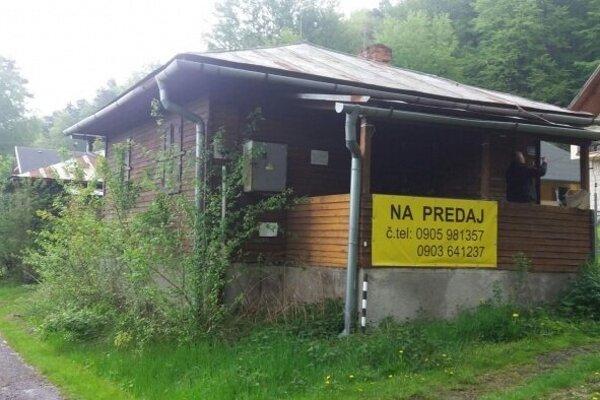 Túto chatu predáva mesto Vranov nad Topľou.