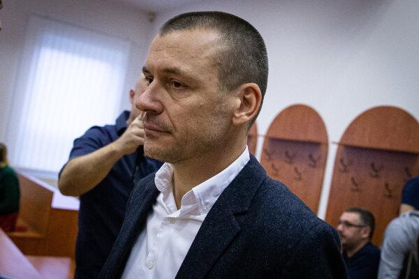 Bývalý príslušník Slovenskej informačnej služby Peter Tóth.
