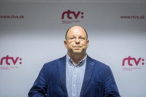 Generálny riaditeľ verejnoprávneho RTVS Jaroslav Rezník