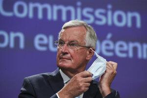 Hlavný vyjednávač EÚ Michel Barnier.