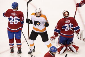 Philadelphia vyradila Montreal v 1. kole play off NHL.