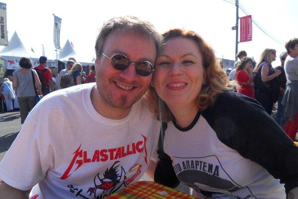 Alain Laurent-Škrabalová a Viktória Laurent-Škrabalová.