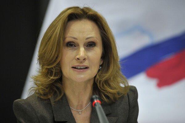 Zuzana Martináková.