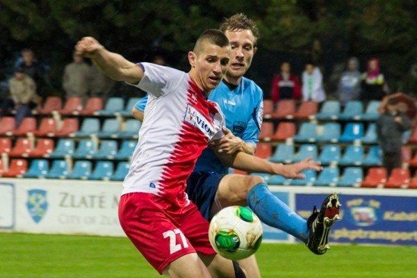 Lukáš Szabó (v popredí).