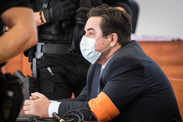 Marian Kočner v súdnej sieni po rozsudku v kauze vraždy novinára Jána Kuciaka.