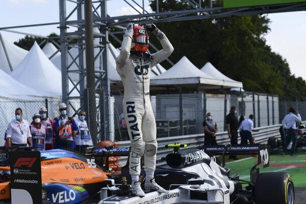 Pierre Gasly z AlphaTauri vyhral VC Talianska 2020.