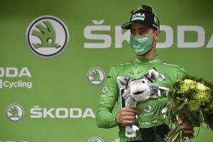 Peter Sagan je aj po Pyrenajach v zelenom drese.