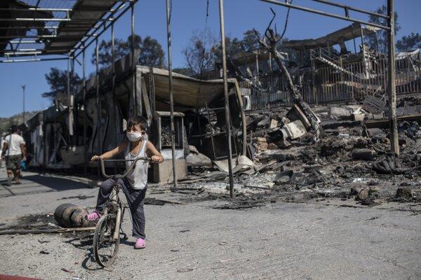 Tábor Moria zhorel do tla.