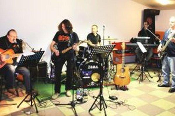 Vencoband počas koncertu v Nitre.
