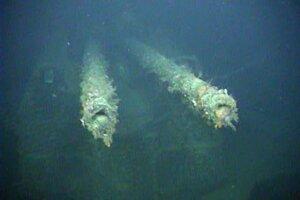 Keď sa na záberoch z diaľkovo ovládaného robota objavili delá, bolo jasné, že inžinieri našli vojnovú loď.