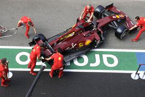Špeciálne lakovanie monopostu Sebastiana Vettela