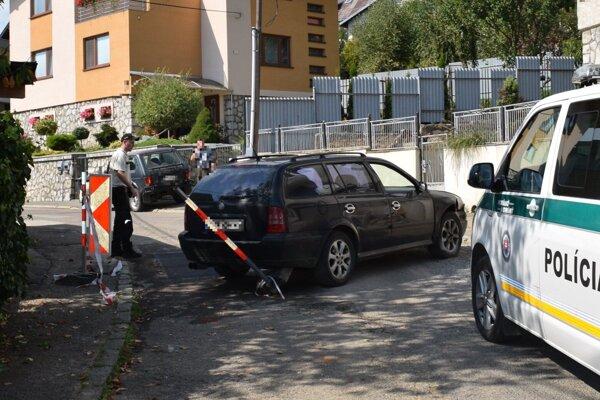 Nehoda v Humennom.