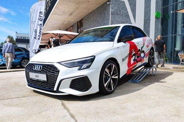 Nové Audi A3 počas uvedenia na slovenský trh.