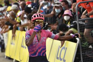 Martínez ovládol záver 13. etapy.