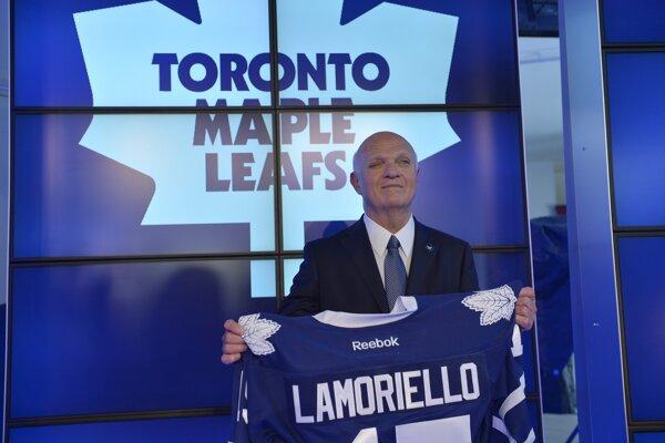 Lou Lamoriello ešte po príchode do Toronta.