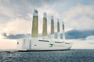 Plavbu cez Atlantik by mala zvládnuť za dvanásť dní, pričom by mala ušetriť 90 percent emisií.