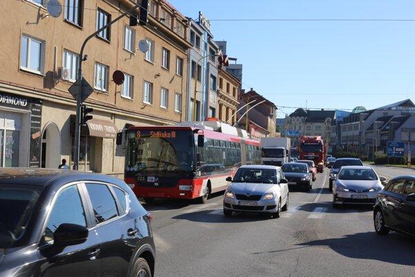 Jeden z buspruhov je plánovaný na Levočskej ulici.