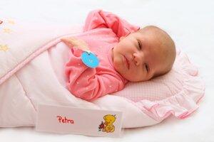 Petra Kalinová z Diviackej Novej Vsi sa narodila 17.9. v Bojniciach