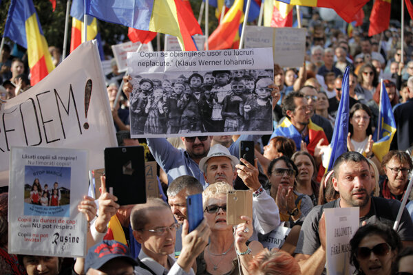 V Rumunsku protestovali proti opatreniam.