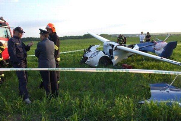 Aeromobil nitrianskeho dizajnéra Štefana Kleina sa dnes vo vzduchu neudržal.