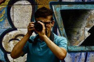 Matúš Širotňak. Mladý muž bol talentovaným fotografom.