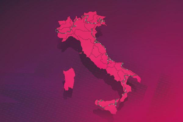 Kompletný program Giro d'Italia 2020, na ktorom sa predstaví aj Peter Sagan.