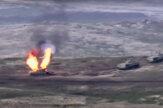 V Náhornom Karabachu vypukli ťažké boje