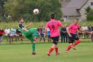 Ilustračné foto zo zápasu Santrio Láza - Radzovce.
