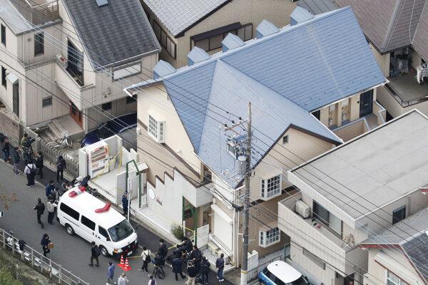 Miesto, kde polícia našla telá.
