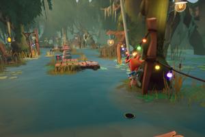 Na uľahčenie hry si môžete zapnúť aj zvýraznenie tieňa postavy, čo uľahčí odhadovanie miesta dopadu po skokoch.