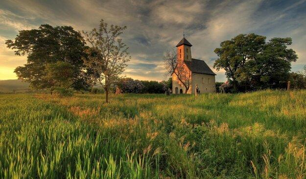 Kostolík sv. Jána Krstiteľa v Pominovci