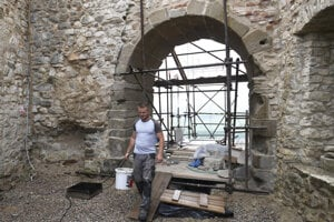 Hrad sa aj tento rok rekonštruoval.