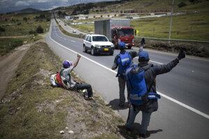 Venezuelčania opäť utekajú z krajiny.