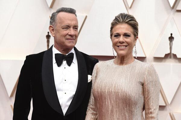Herec Tom Hanks a herečka Rita Wilsonová sú manželmi viac ako tridsať rokov.