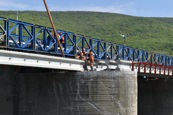 Most za Strážskym.
