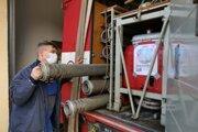 Dobrovoľným hasičom v Kolinovciach slúži 48-ročná avia.