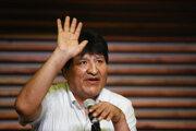 Bolívijský exprezident Evo Morales.