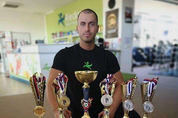 Marek Vlček získal už mnoho trofejí a chce pridať do zbierky ďalšie.