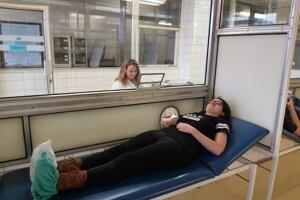 Nemocnica sa spolieha aj na pomoc tohtoročnej Študentskej kvapky krvi.