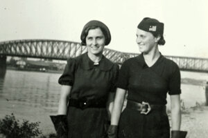 Mladé ženy v Bratislave.