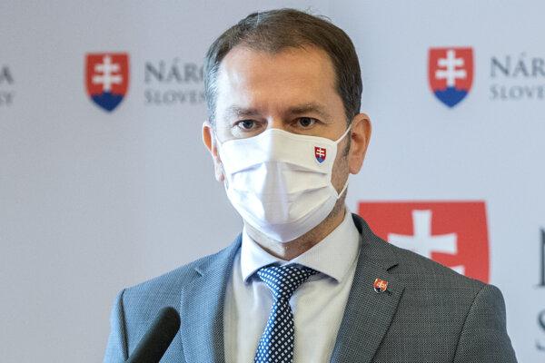 Premiér Matovič