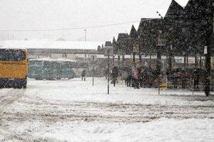 Takto to dnes vyzerá na autobusovej stanici.