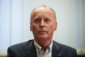 Predseda akademického senátu Slovenskej technickej univerzity Marián Peciar.