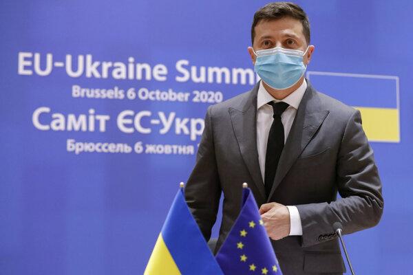 Prezident Volodymyr Zelenskyj.