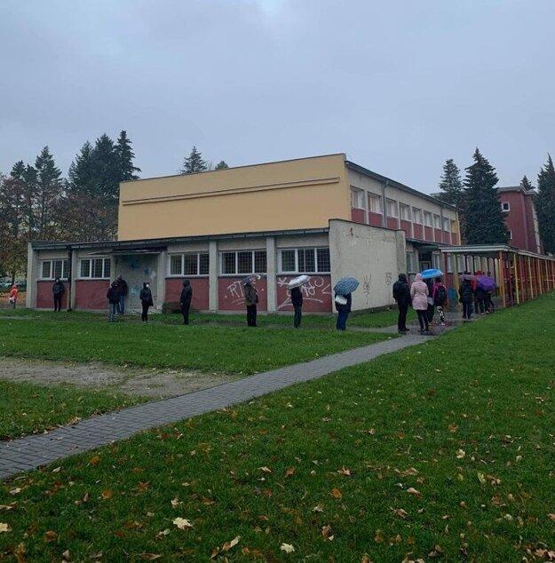 Odberné miesto na Severe v škole A. Bernoláka.