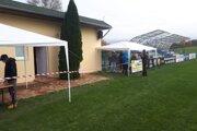 V  Ružinej testujú v areáli futbalového štadióna.
