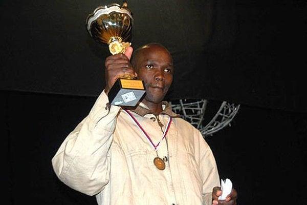 Víťazný Keňan Justus Kiprono.