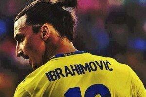 Zlatan Ibrahimovič v reprezentácii Švédska.