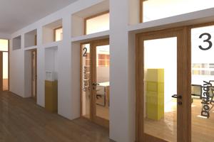 Priestory nového klientskeho centra v Rajci.