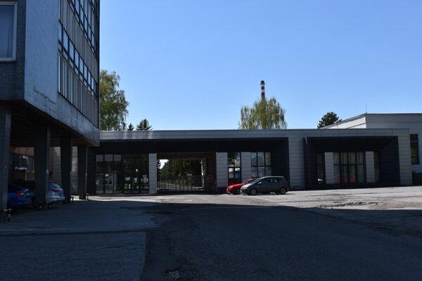 Priemyselný park, v ktorom sídli firma.